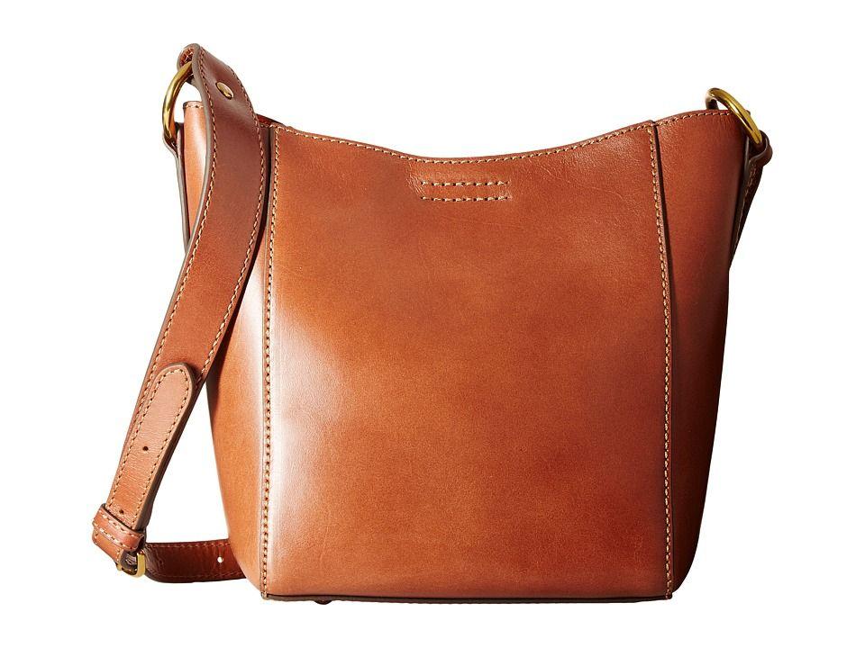 5ff2798d9e FRYE FRYE - HARNESS CROSSBODY BUCKET (RUST SMOOTH FULL GRAIN) CROSS BODY  HANDBAGS.  frye  bags  shoulder bags  leather  bucket