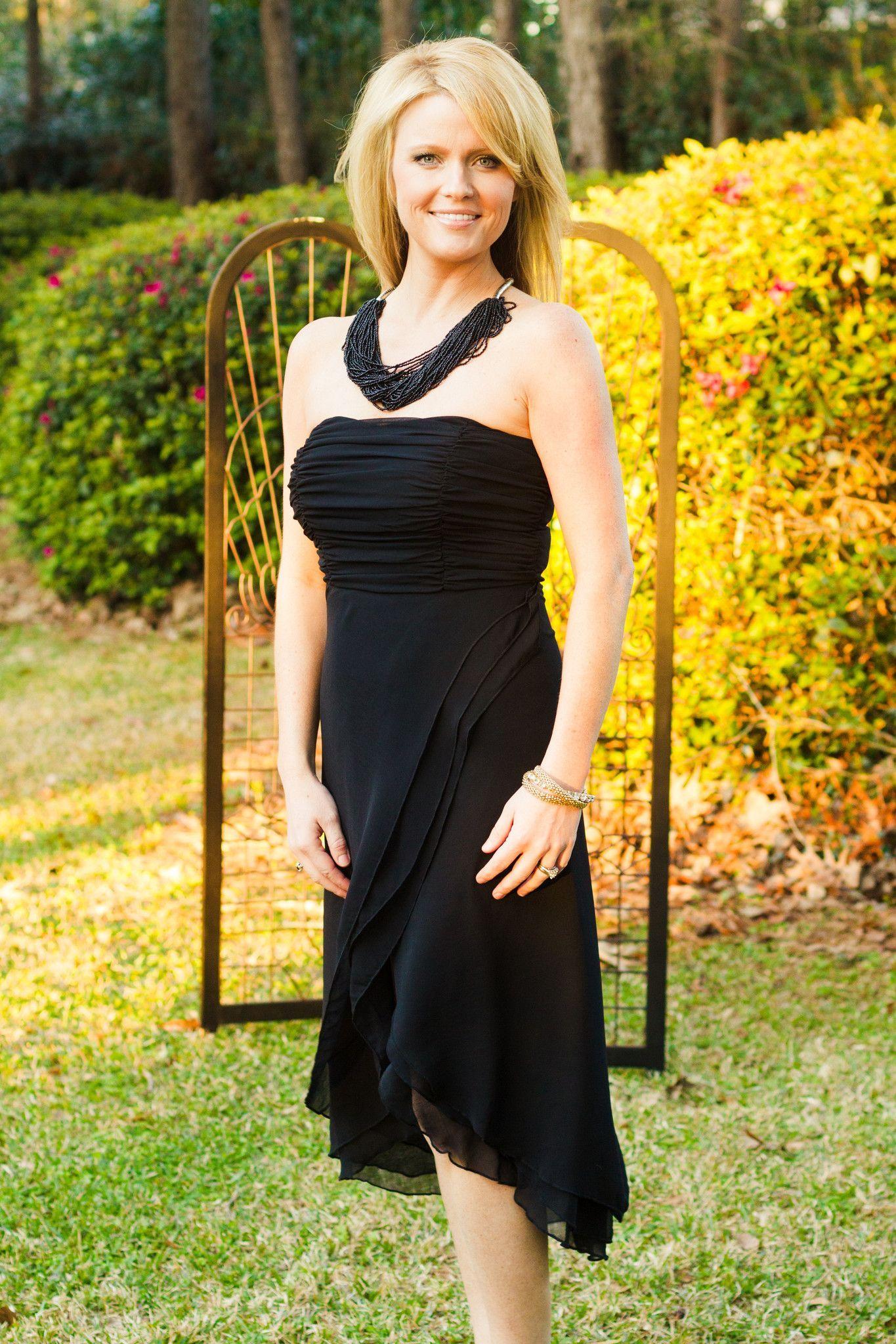 Michelle Dress, Black