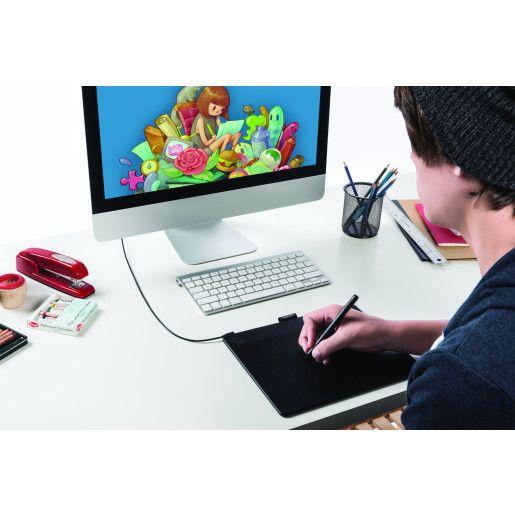 Wacom Intuos Art Pen and Touch Medium Black - Cubox Australia