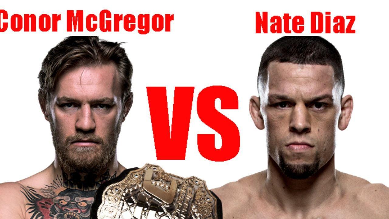 mcgregor vs diaz live fight Nate diaz, Nate diaz vs