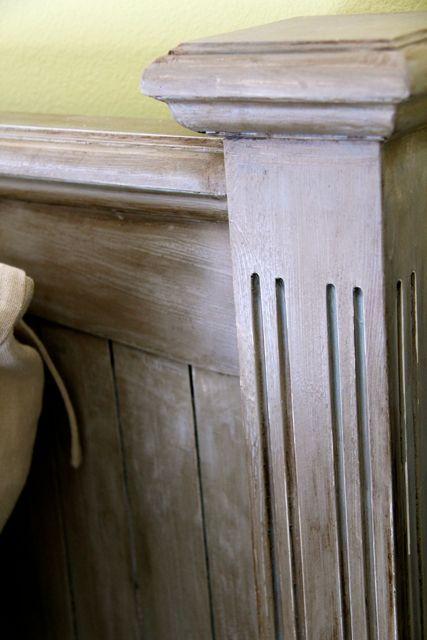 Diy Glaze To Look Like Resto H Restoration Hardware Knock Off Headboard