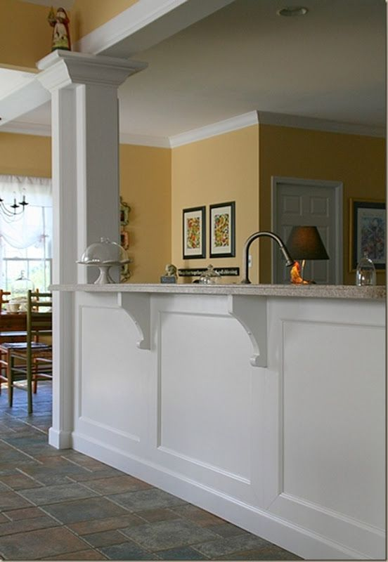 Breakfast Bar Between Kitchen And Living Room Remove Wall Into Dining Decor Items Remodel