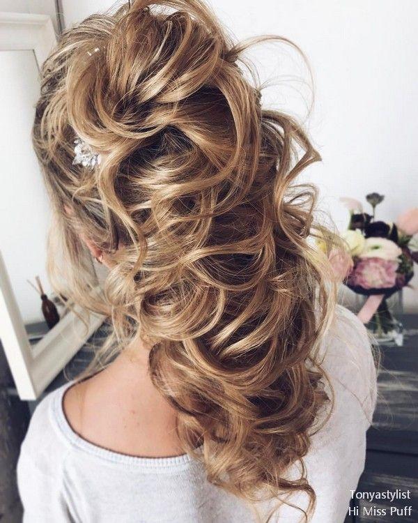 Tonya Pushkareva Long Wedding Hairstyles and Updos | h a i ...