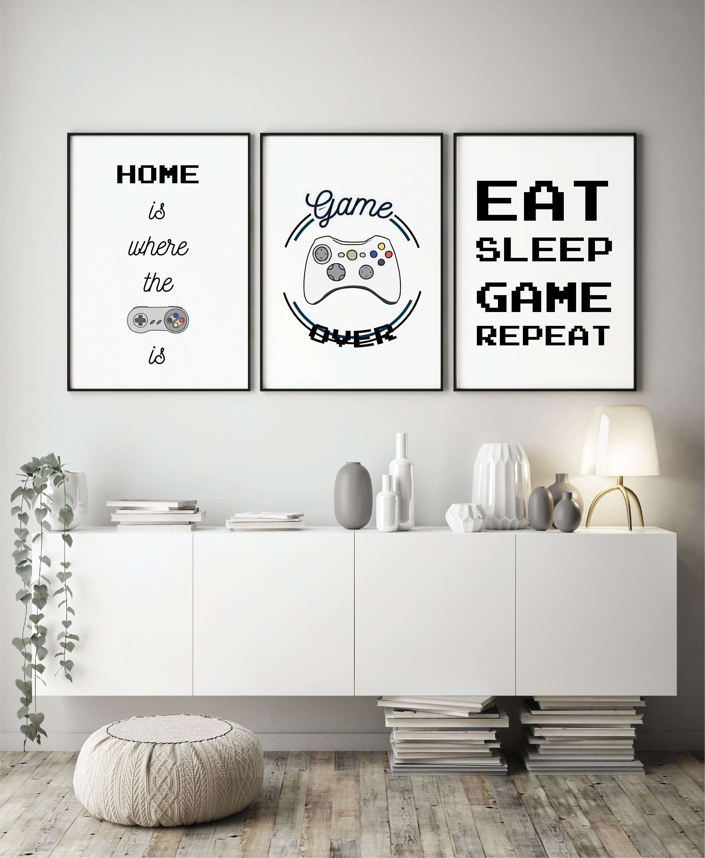 Gaming Room Wall Art Inspiration Camaxid Com Gamer Room Decor