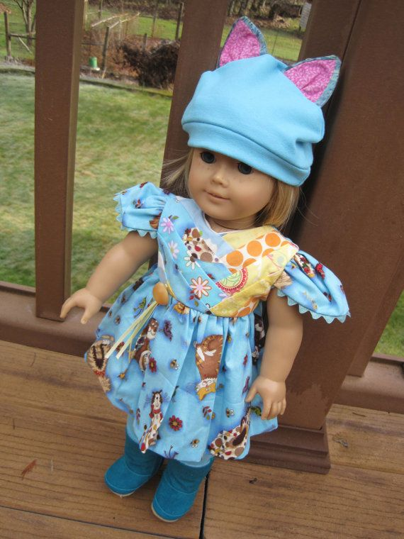 American Girl doll clothes ARTSY ooak Kitty by judysdollboutique, $29.50