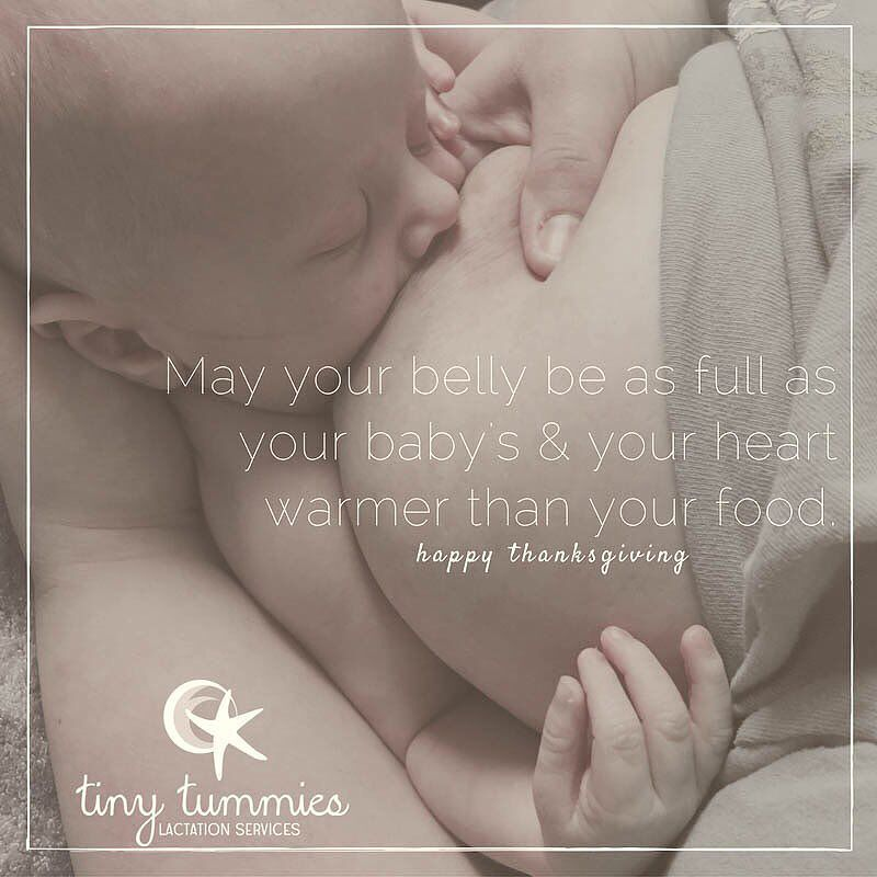Cooking growth spurts and family entertaining - oh my!  Happy Thanksgiving - remember to take a few moments for you today. <3 #TinyTummiesLC