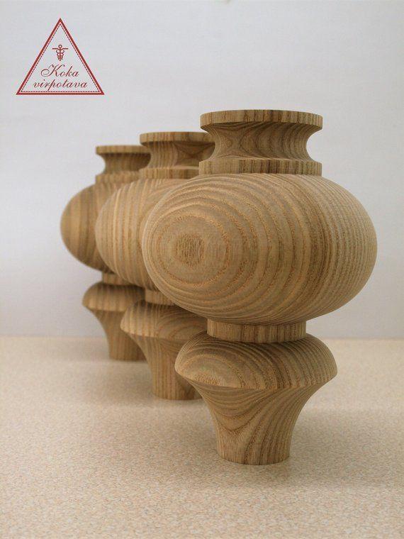 Handmade Wooden Leg Furniture Leg Turned Wooden Leg Sofa Leg Etsy Wooden Leg Sofa Wood Furniture Legs Furniture Legs