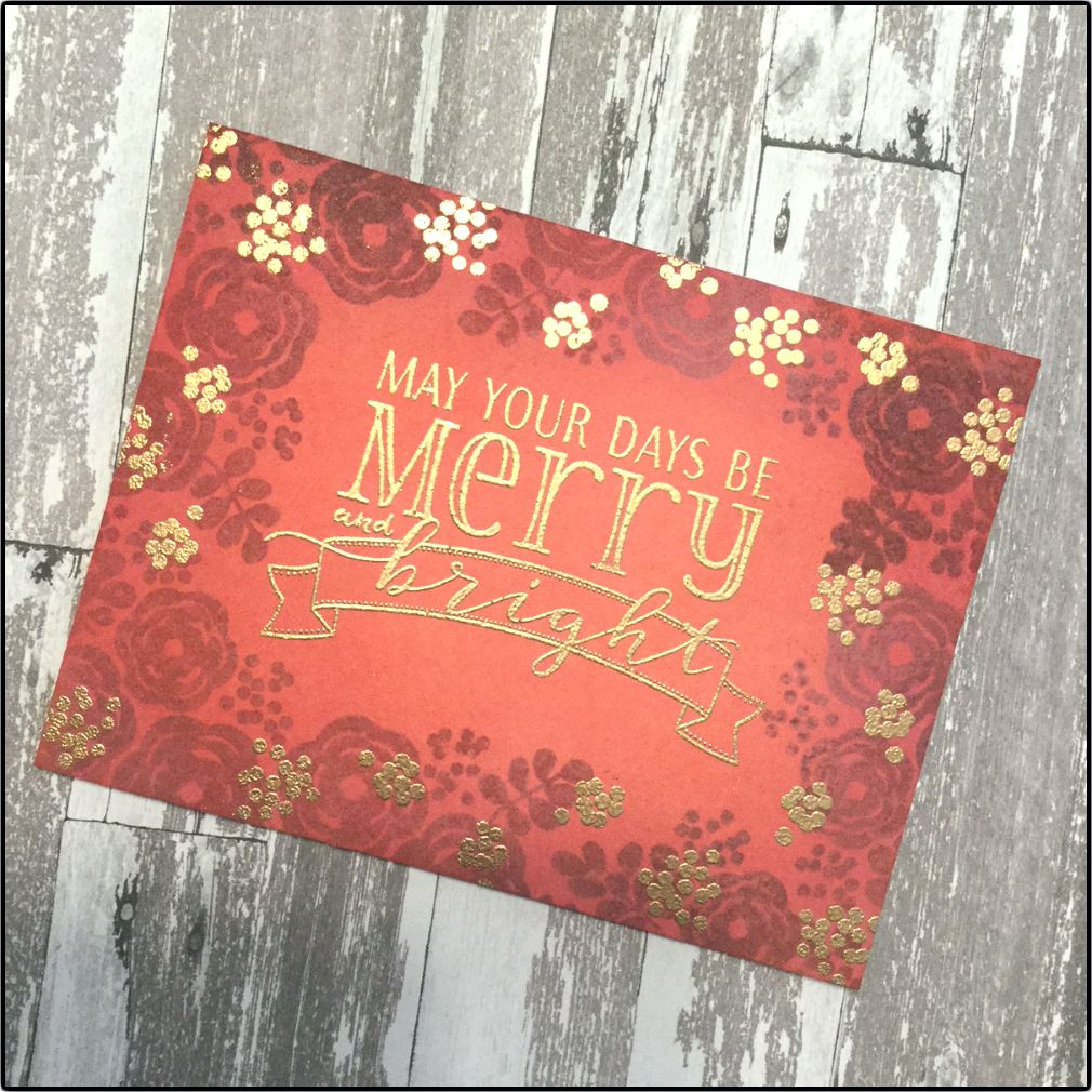 nonholiday stamps for holiday cards with images
