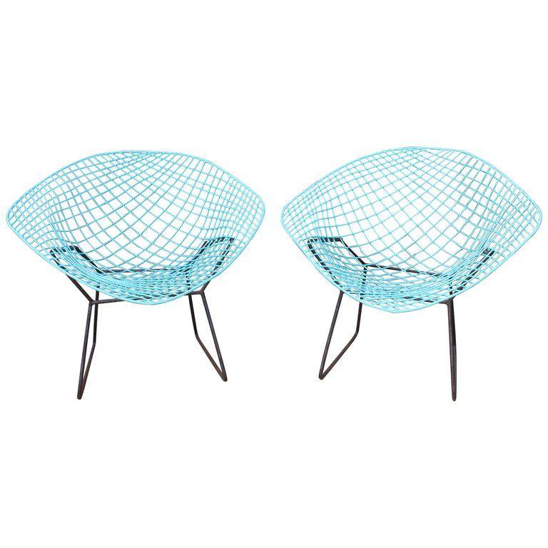 bertoia diamond chair replica