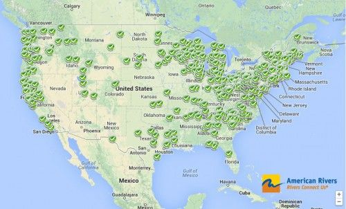 Dam Removal Map Teaching Pinterest Water Quality - Map of dams in the us