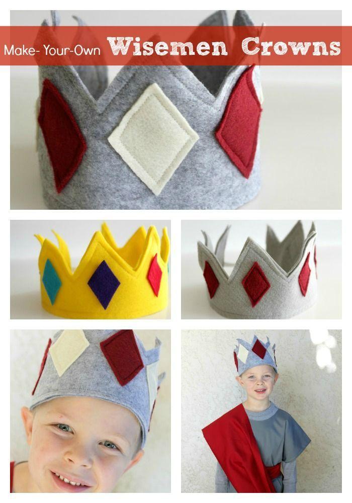 Kids queen king crafts wiseman crowns or kingqueen crowns a kids queen king crafts wiseman crowns or kingqueen crowns a nativity costumeswisemen costumediy solutioingenieria Gallery