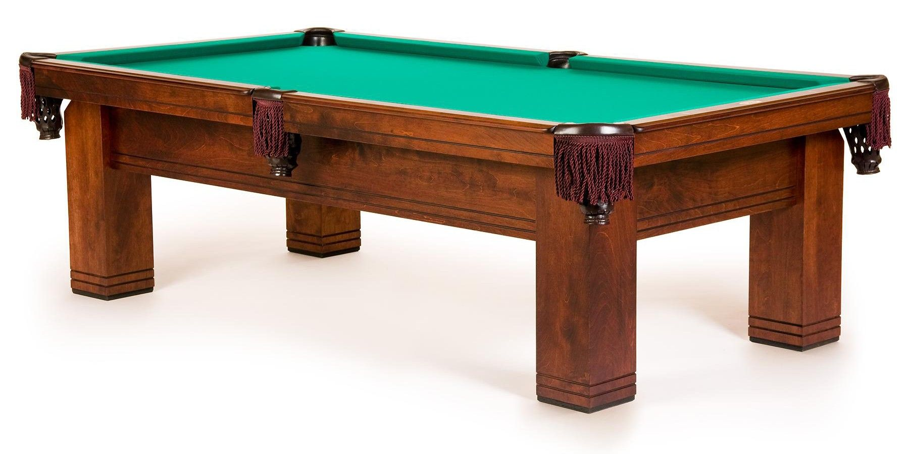 This Benchmark Billiards Richland Pool Table Compliments The Contemporary Styling Crafted From American Birch Wood And Stained In A Pool Table Pool Table Cloth
