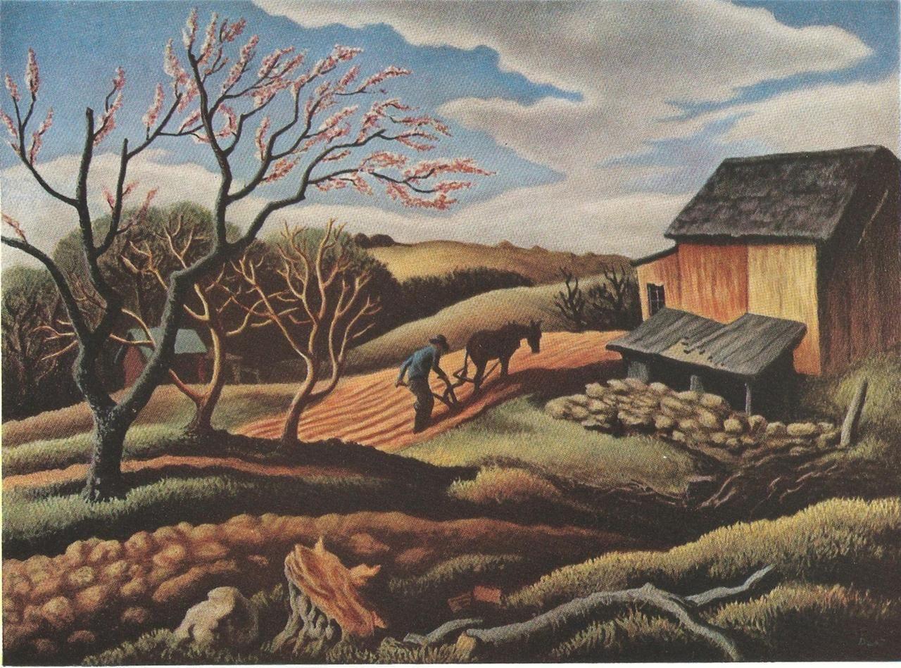 Thomas Hart Benton Paintings - Bing