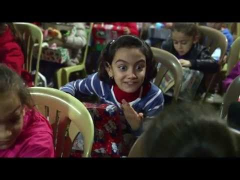 Operation Christmas Child Distribution in Iraq - YouTube ...