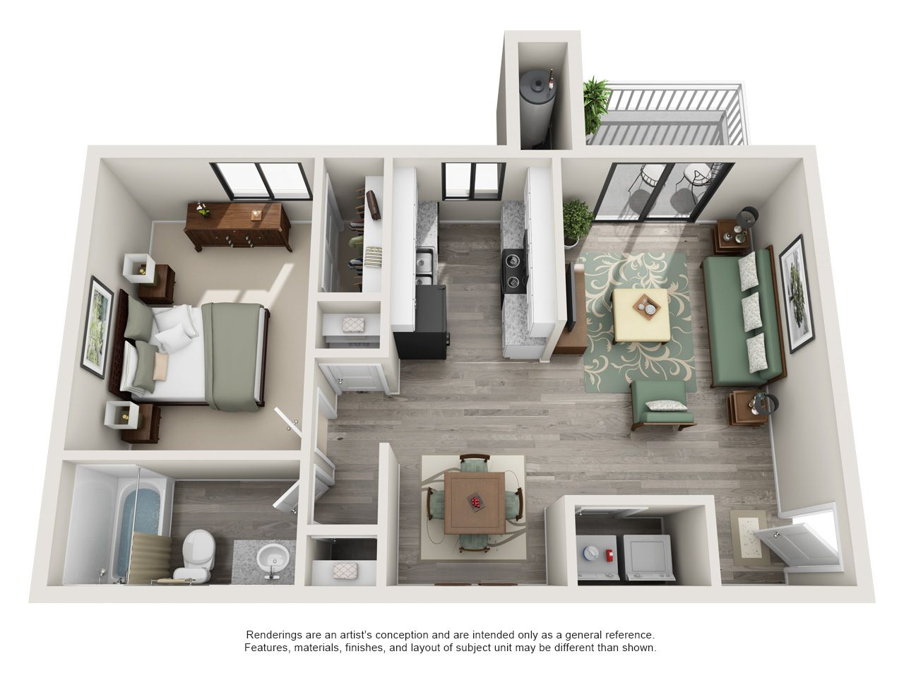 1 2 And 3 Bedroom Plans Small Apartment Plans Apartment Blueprints Apartment Layout