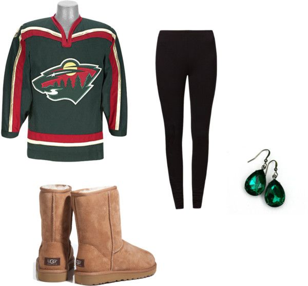 Hockey Game Outfit By Raan1103 On Polyvore But It Should Be Flyers Hockey Game Outfit Gaming Clothes Jersey Outfit