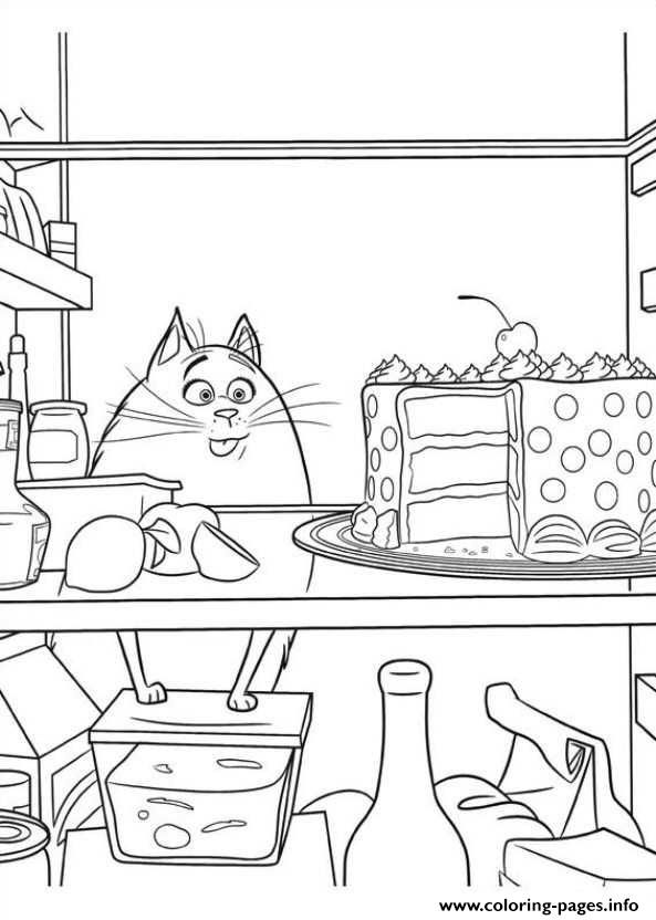 Coloring Pages Info Omg Too Much Food Secret Life Of Pets Printable Coloring Pages Book 14124 Secret Life Of Pets Coloring Books Coloring Pages