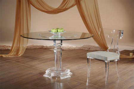 Fantasia Round Dinette Table Base By Shahrooz Shahrooz Art