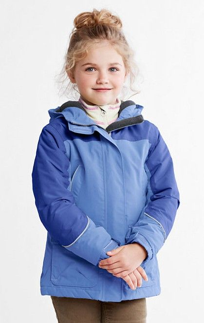 0d4d9fa2b02 Girls' Waterproof Squall Parka from Lands' End. It's a blizzard of ...