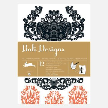 The Pepin Press: Bali Designs Wrapping Paper, at 12% off