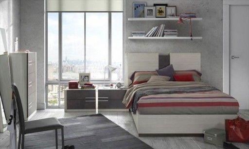 Cabeceros de cama modernos Cabecero Mylas de la colección Doria de
