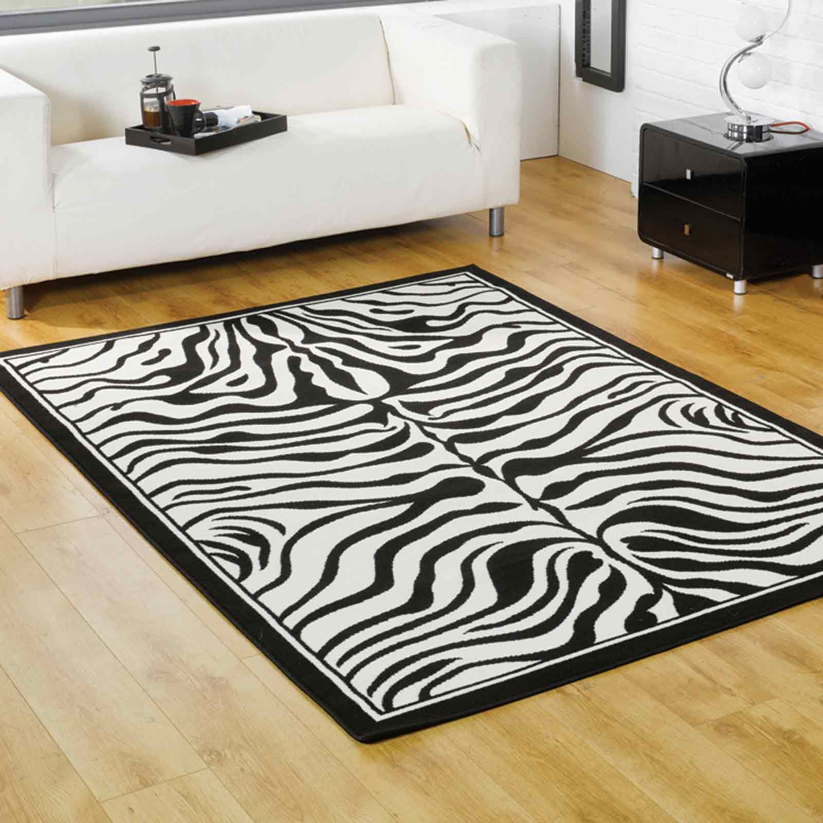 Zebra Rug Collection Is Machine Made