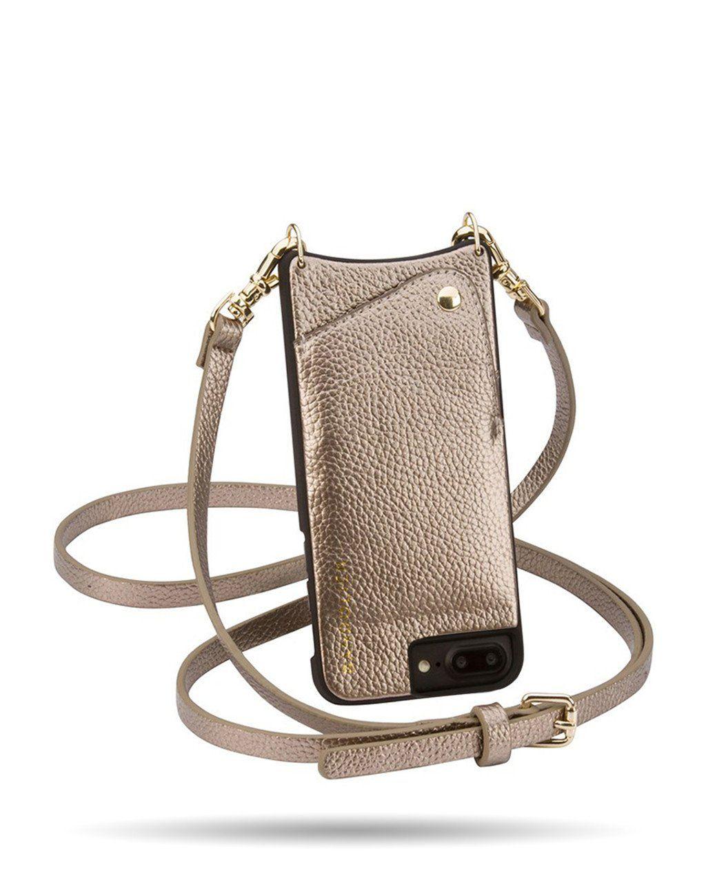 5615f4846528 Bandolier Emma Crossbody Case for iPhone 6 Plus 6s Plus 7 Plus