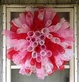 Deco Mesh Valentine's Day Wreath