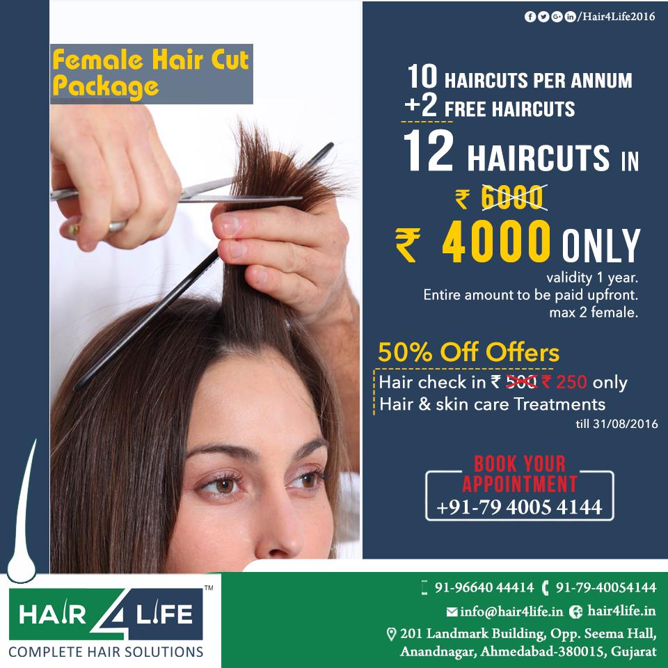 hair4life #female #hair #cut package