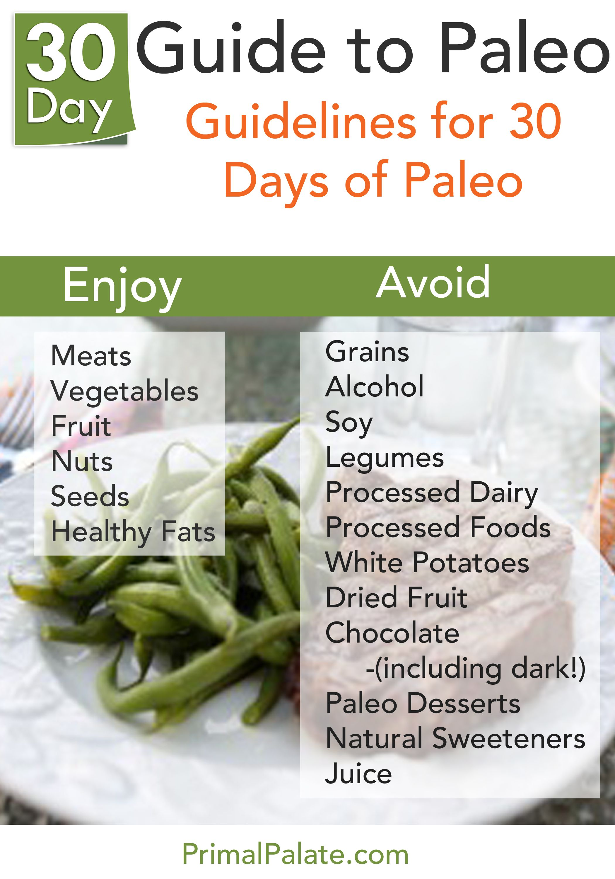 The 30 Day Guide To Paleo Program Follows STRICT Paleo
