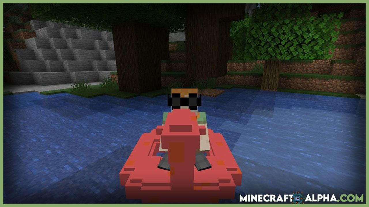 Swimming Pool And Marine Equipment Mode In 2021 Minecraft Mods Minecraft Swimming Pool Pool
