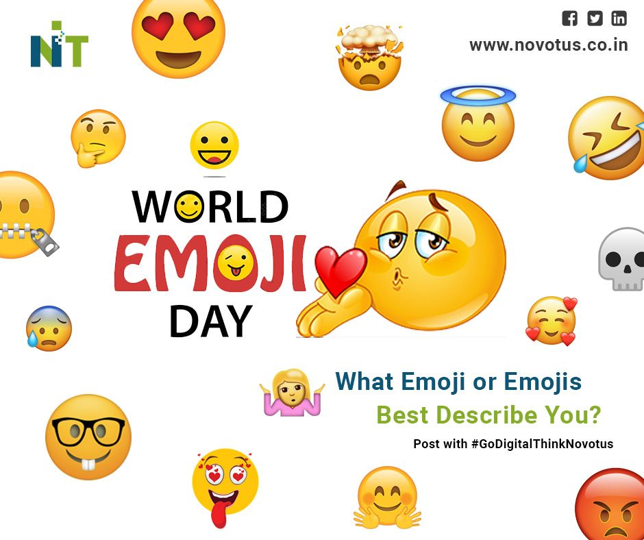 What Words Can T Express Emojis Can So What S Your Most Used Emoji Happy World Emoji Day Online Marketing Digital Marketing Services
