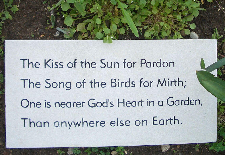 Memorial Plaques Lawn Garden Garden Deco Garden Signs