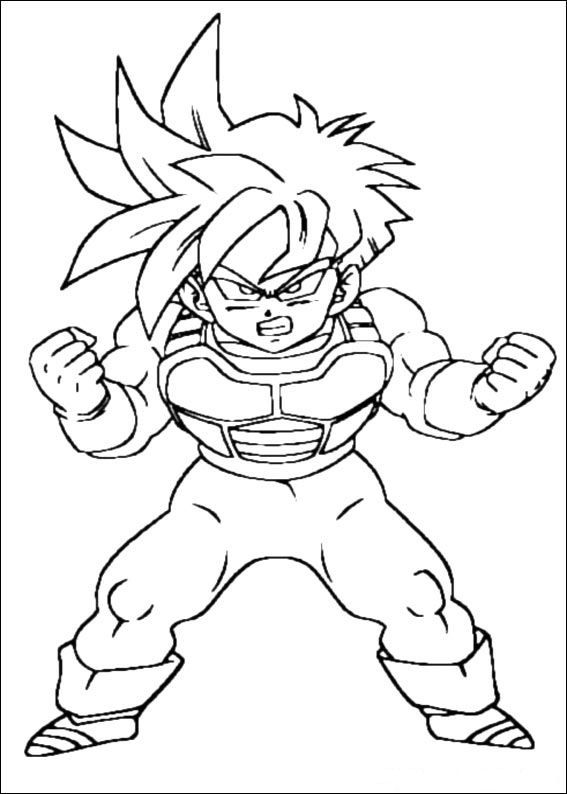 coloring page Dragon Ball Z - Dragon Ball Z | Coloring Pages ...