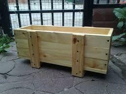 resultado de imagen para jardineras madera exterior
