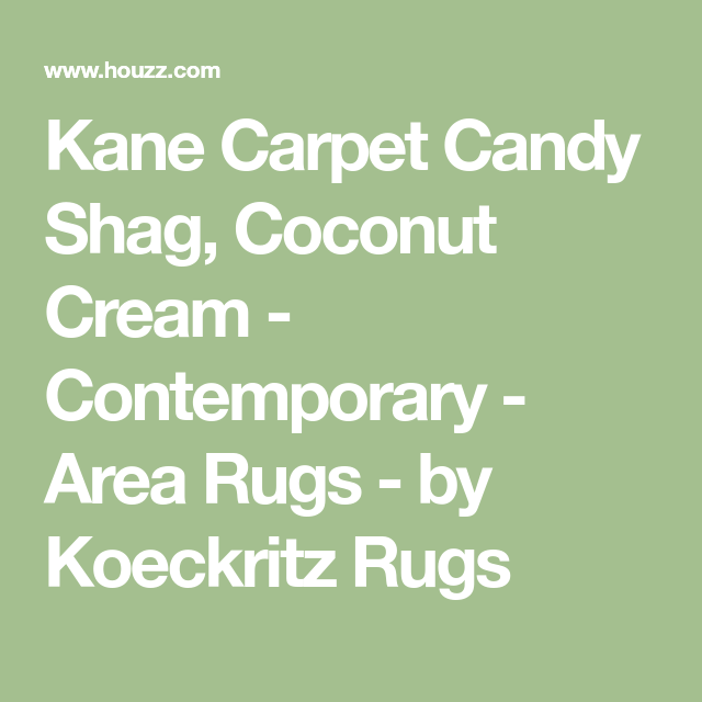 Kane Carpet Candy Shag Coconut Cream Contemporary Area Rugs By Koeckritz Rugs Area Rugs Kane Carpet Contemporary Area Rugs