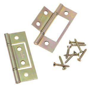 Stanley Hardware Bifold Non Mortise Hinge Brass 402134 By Stanley 3 26 Amazon Com The Stanley Hardware Steel Doors Wood Doors Home Hardware