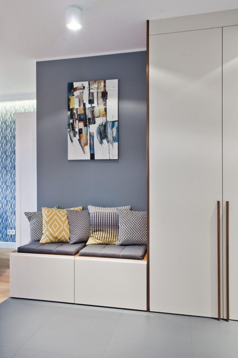Hallway furniture habitat  Katowice Apartment with Bright and Cozy Interior  Superpozycja
