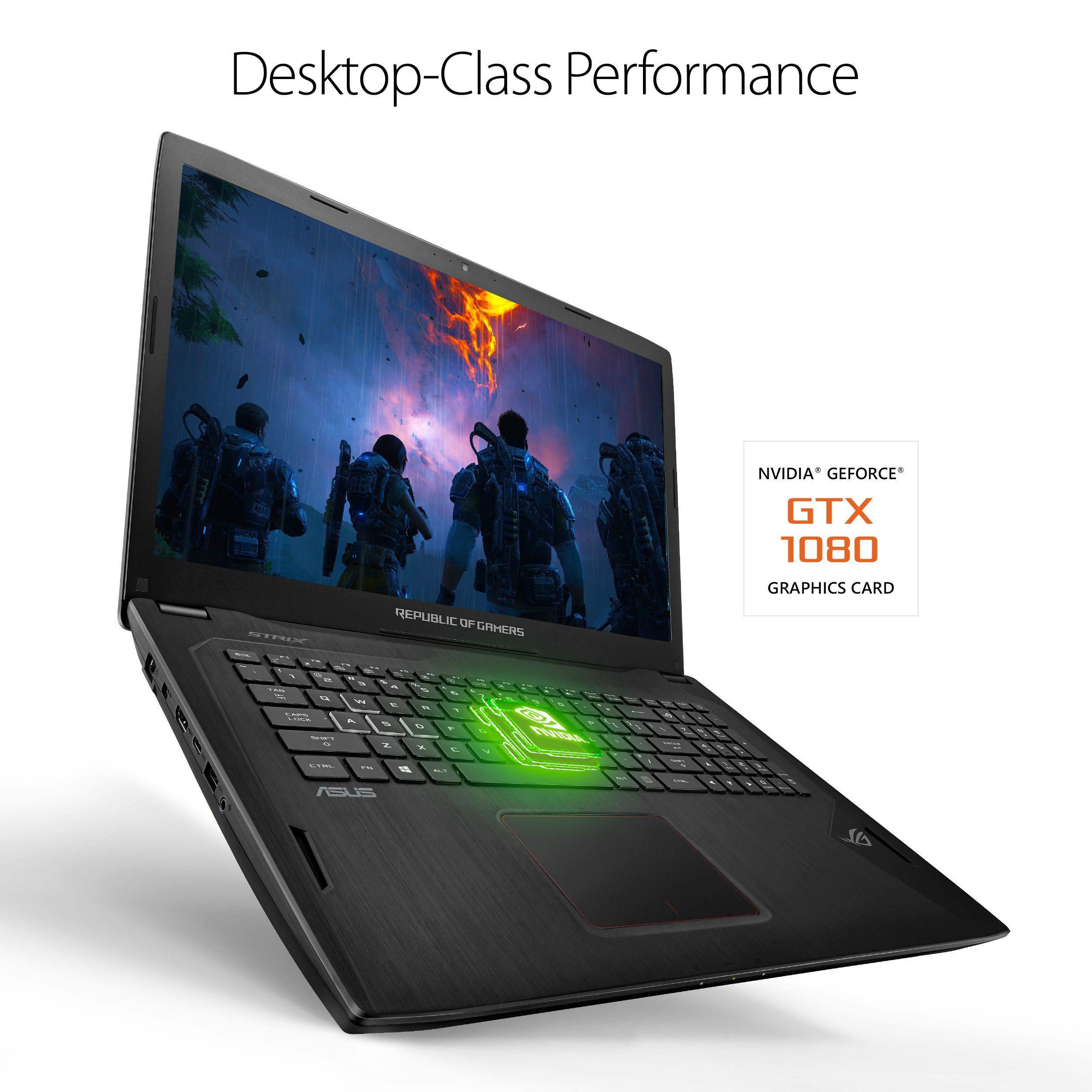 ROG STRIX GL702VI Gaming Laptop 17¢€ Full HD Panel Intel Core i7 2 8GHz Processor