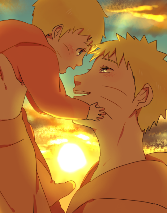 Pin by Chris Boothe on Paternité | Naruto fan art, Naruto ...