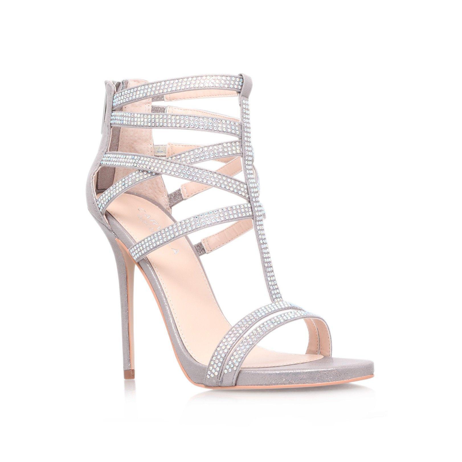 Silver sandals or shoes - Glaze Silver Shoe By Carvela Kurt Geiger Women Shoes Sandals
