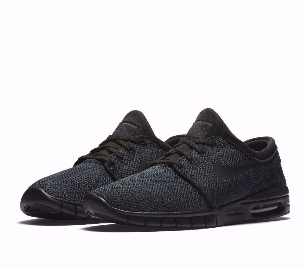 Nike SB Stefan Janoski Max Skateboarding Shoes Mens 9 Black 631303 013  Nike   Skateboarding adcb357a3c8
