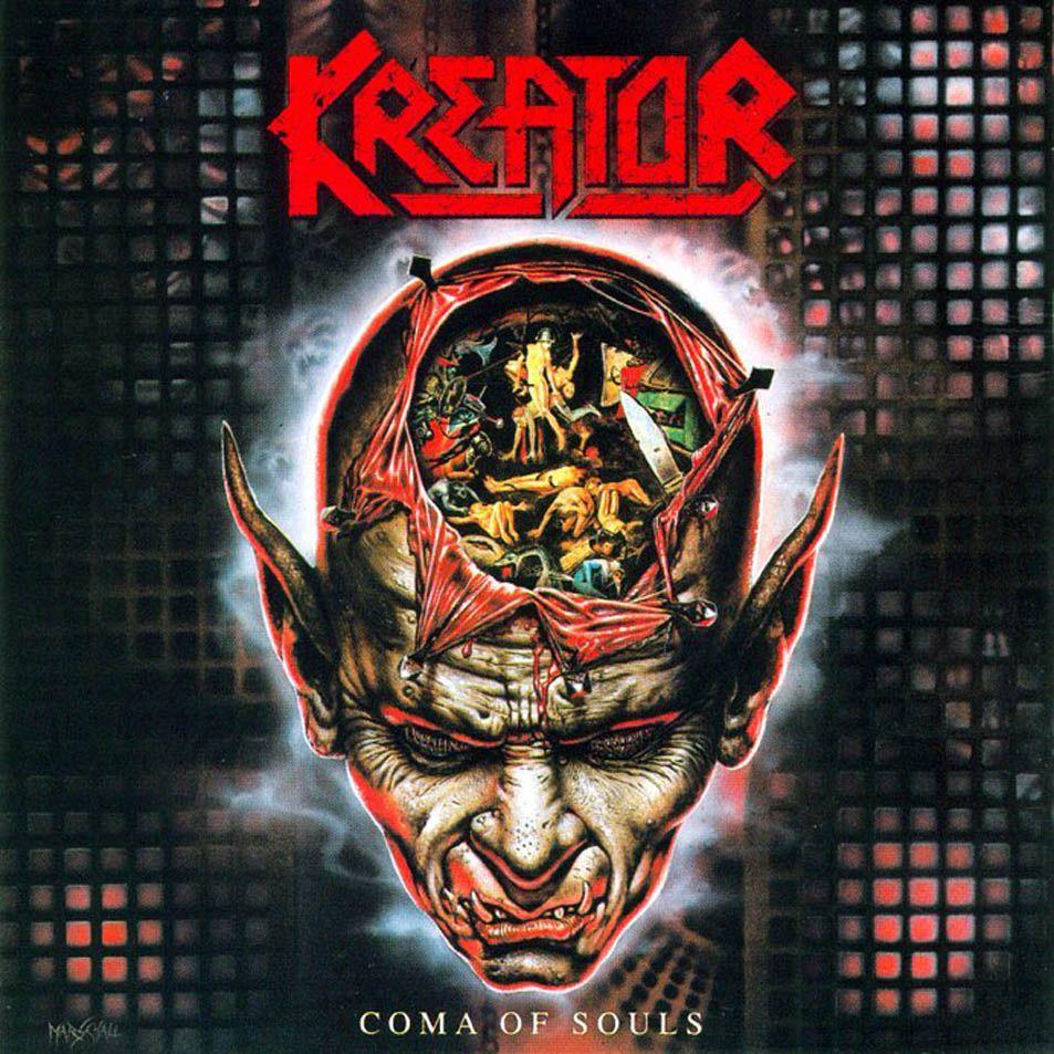 Kreator Coma Of Souls Metal Album Music La Coma
