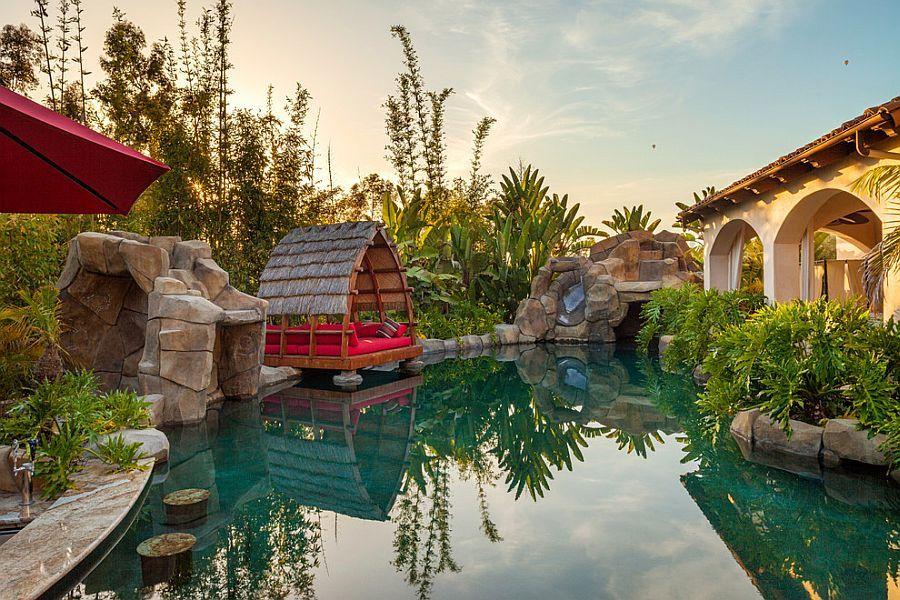 Backyard Paradise: 25 Spectacular Tropical Pool Landscaping Ideas ...