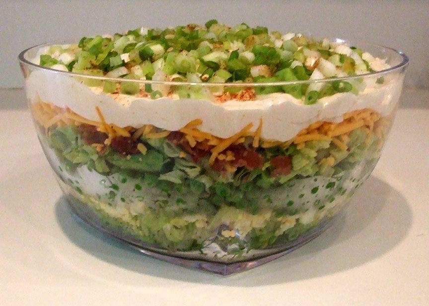 Layered Salad Layered Salad Layered Salad Recipes Recipes