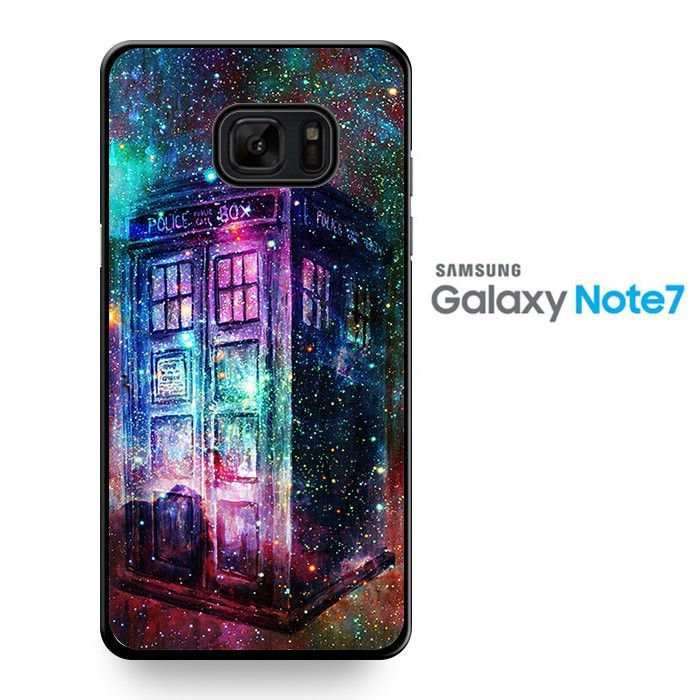 Tardis Doctor Who Police Box Galaxy TATUM-10476 Samsung Phonecase Cover For Samsung Galaxy Note 7