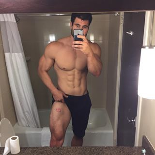 hot fitness guy naked