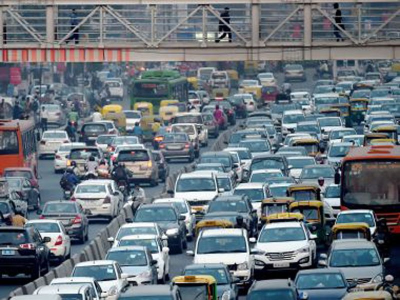 Odd Even Formula Even Cars To Ply On Road Today Delhi Roads