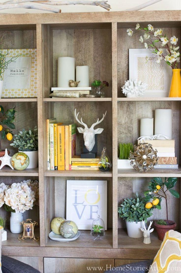 Simplified Shelves Meaningful Spaces Meaningful Shelves Simplified Spaces In 2020 Farmhouse Bookshelf Decor Farm House Living Room Farmhouse Shelves Decor