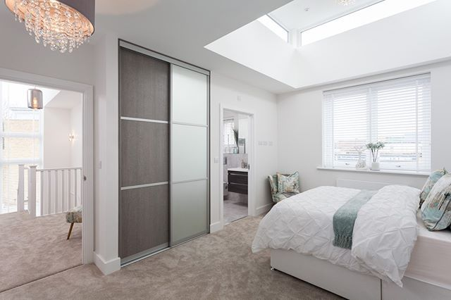 Amazing master bedroom from our showhome in canterbury interiordesign also rh pinterest